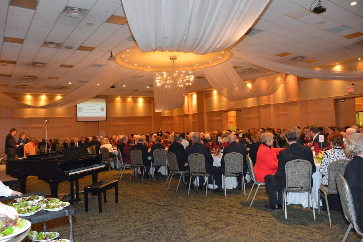 Toronto Banquet, 1 December 2013