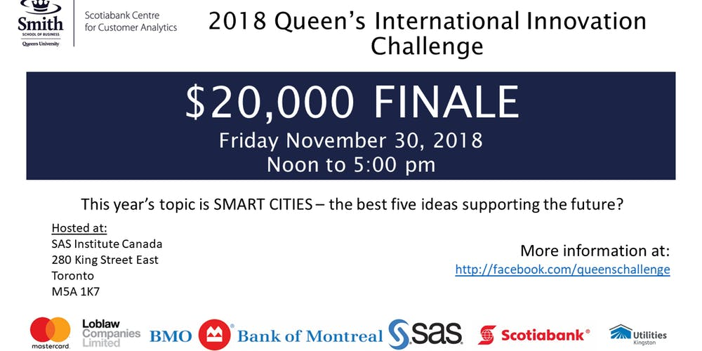 2018 Queen's International Innovation Challenge