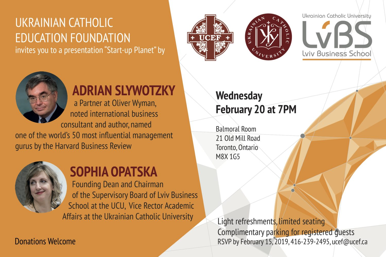 Presentation by Adrian Slywotzky