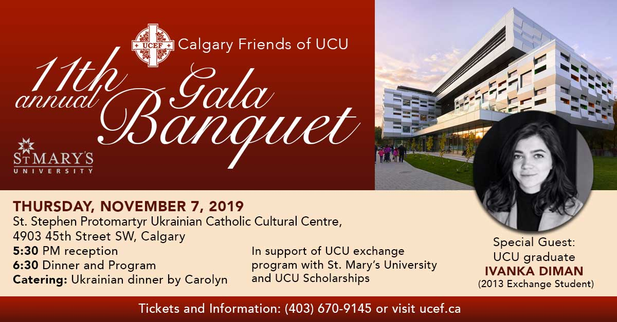 11th Gala Banquet in Calgary